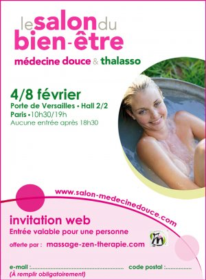 invitation salon medecine douce et thalasso